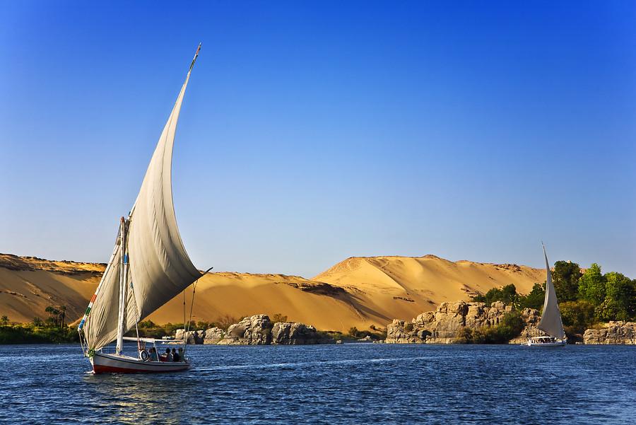 Egypte - Nijlvallei en Witte Woestijn