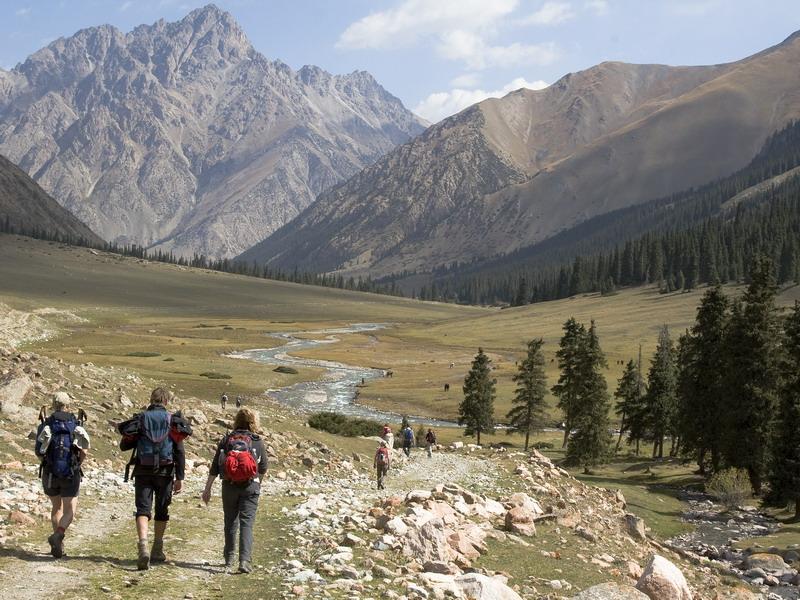 Kirgizië - Wandelreis