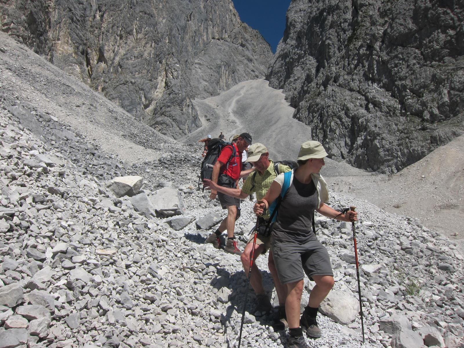 Duitsland - Te voet over de Alpen, etappe 1
