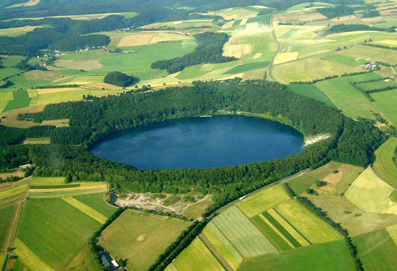 Duitsland - Eifel, Meerfelder Maar