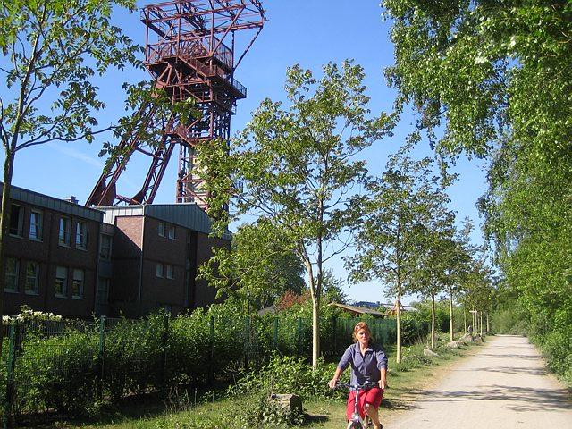 Fietsvakantie Duitsland - Ruhrgebied in Essen (Nordrhein-Westfalen, Duitsland)
