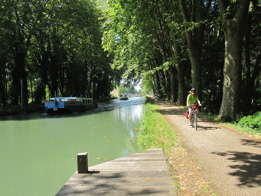 Frankrijk - Canal de Garonne
