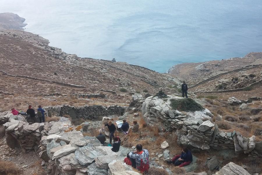 Griekenland - Andros, onderhoud historische wandelpaden