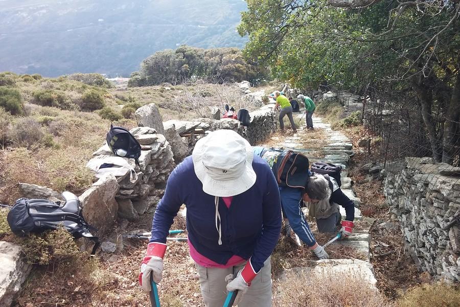 Griekenland - Andros - duurzaam wandelen