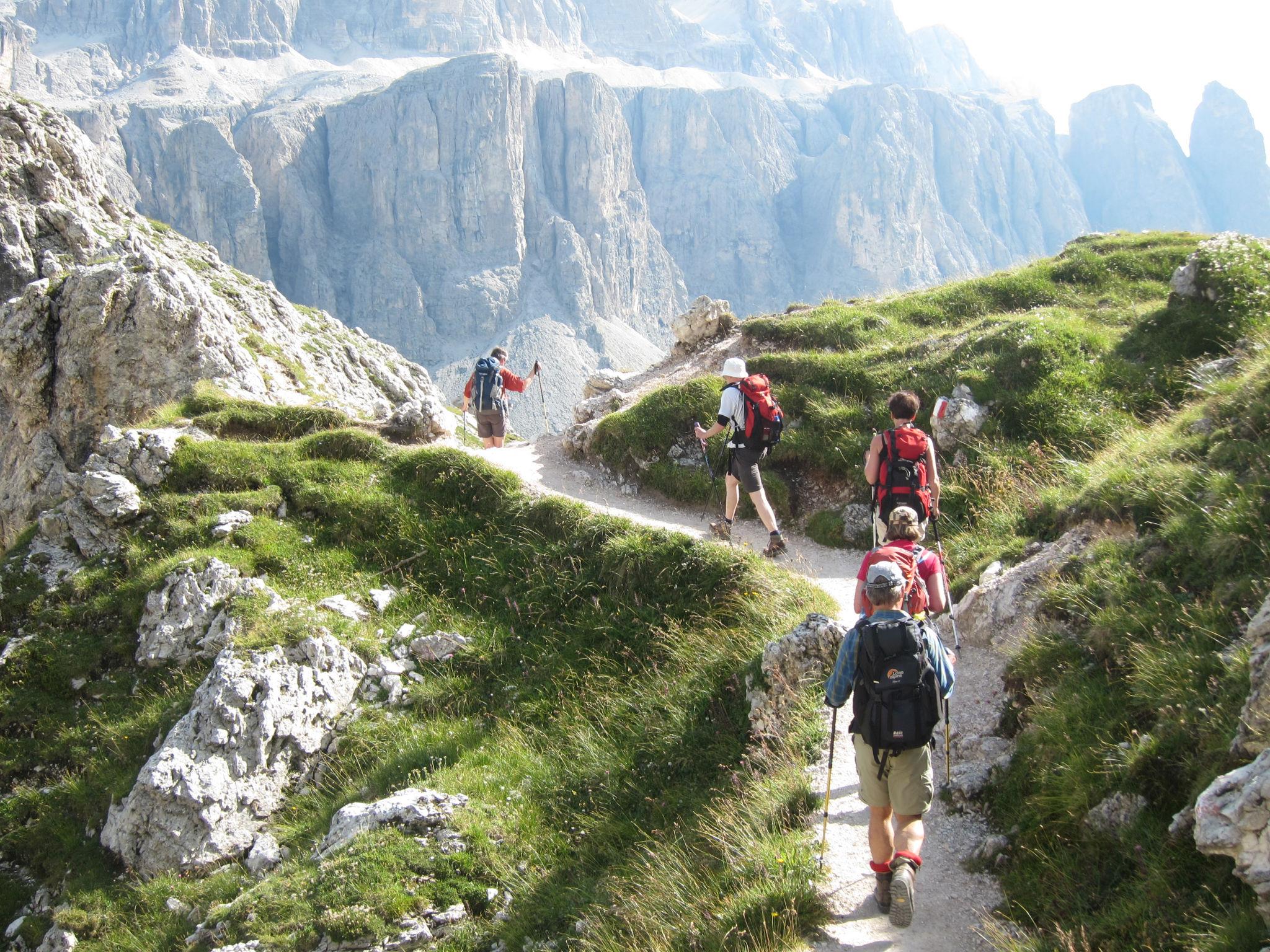 Italië - Te voet over de Alpen, etappe 3
