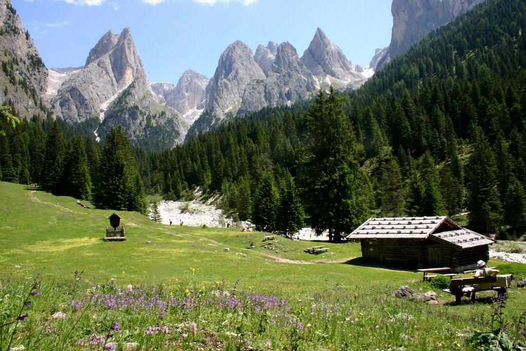 Italië - Südtirol - Rosengarten