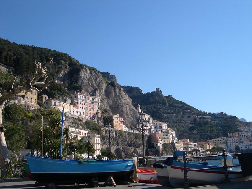 Italië - Campania - Cilento & Amalfi