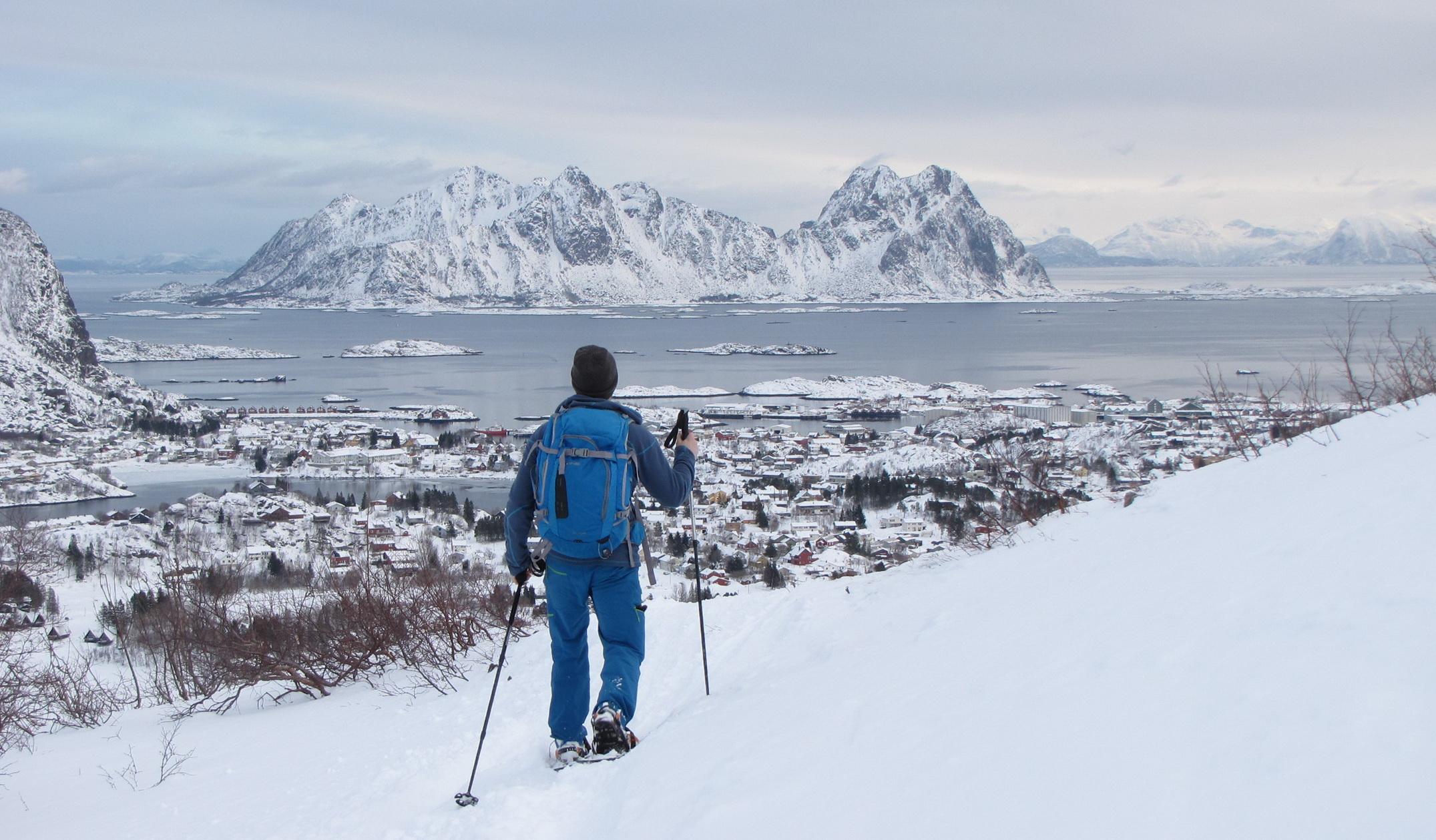 Noorwegen - Lofoten sneeuwwandelen