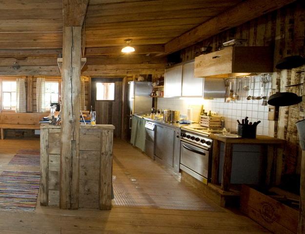 Vorarlberg bregenzerwald gezinsvakantie actieve natuurvakantie vanuit eigen berghut snp - Keuken berghuisje ...