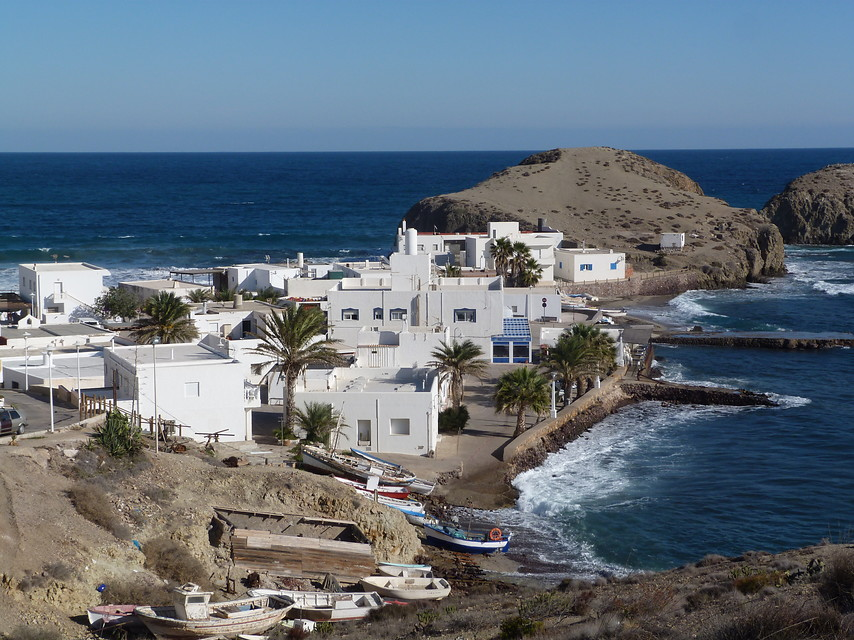 Wandelvakantie Spanje - Andalusië * Cabo de Gata in Agua Amarga (Andalusië, Spanje)