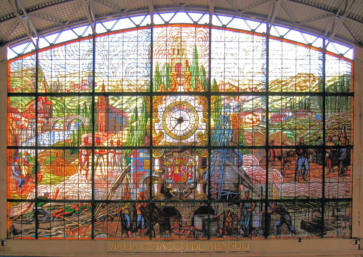 Glas In Lood Engels.Spanje Bilbao Reis Boek Je Bed 2do Vakantie Bij Snp Natuurreizen