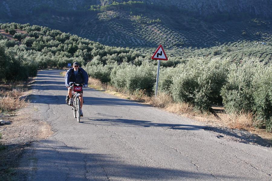 Fietsvakantie Spanje - Andalusië * Olijvenroute in Priego de Cordoba (Andalusië, Spanje)
