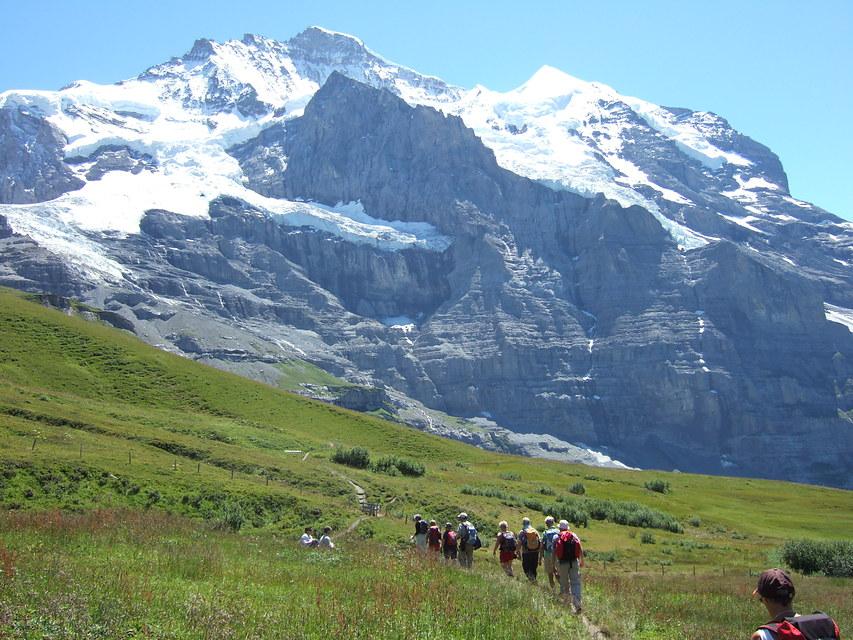 Wandelvakantie Zwitserland - Jungfrau in Wengen (Centraal-Zwitserland, Zwitserland)