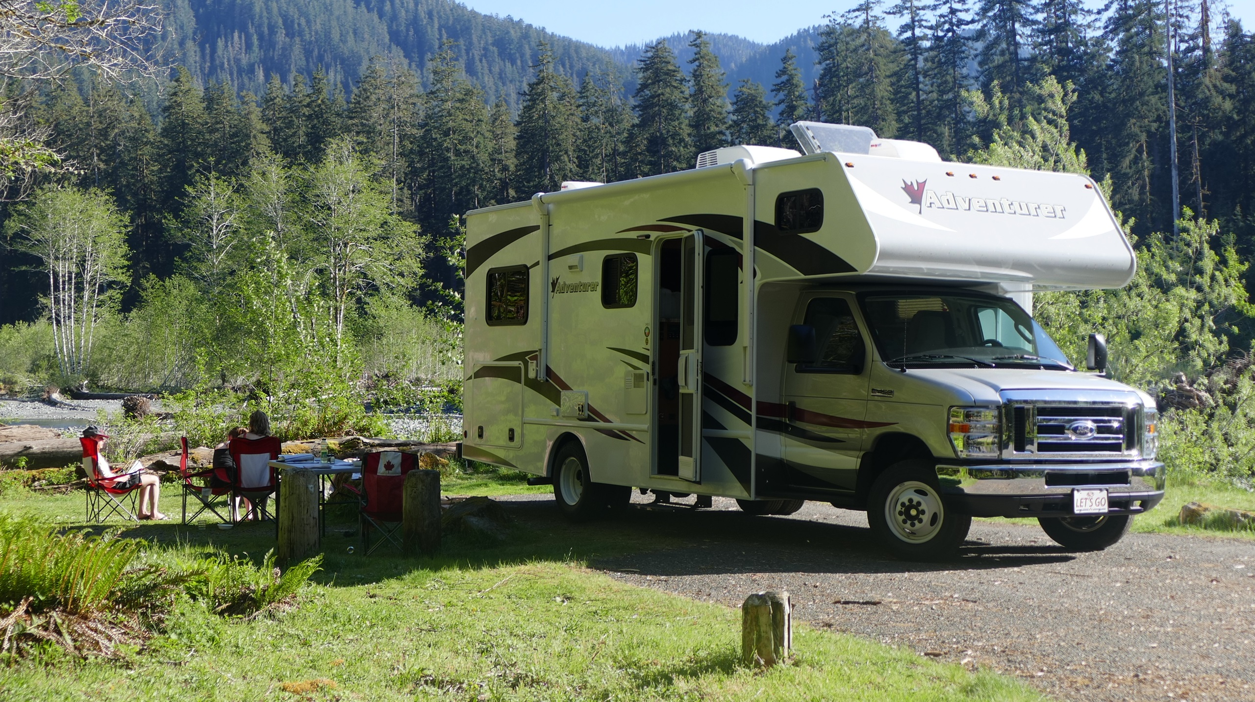 Stad water hook up RV
